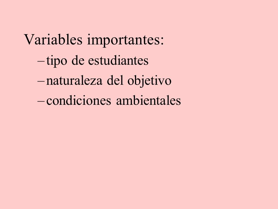 Variables importantes: