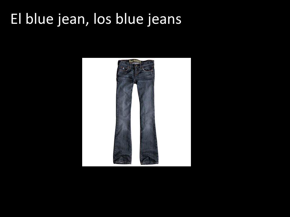 El blue jean, los blue jeans