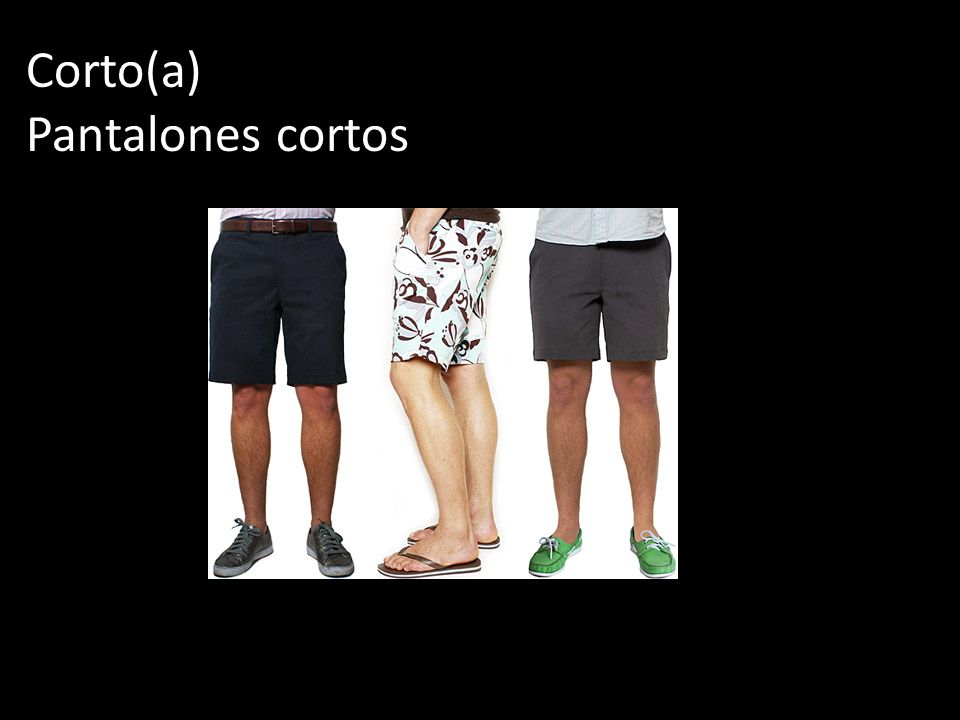 Corto(a) Pantalones cortos