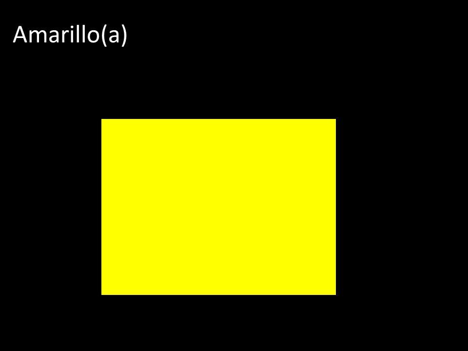 Amarillo(a)