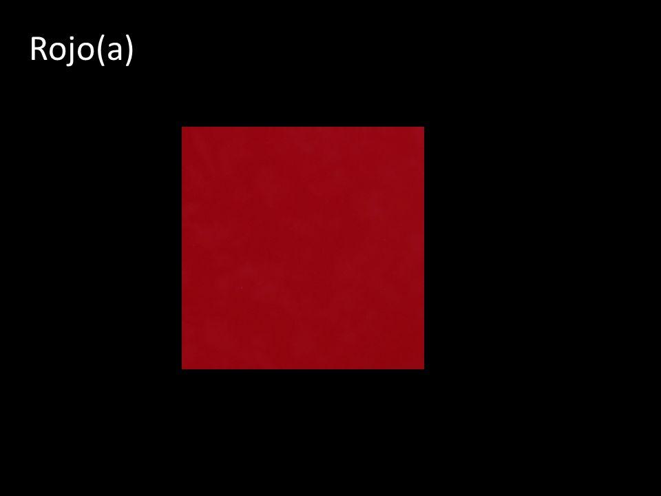 Rojo(a)
