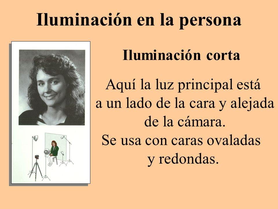 Iluminación en la persona