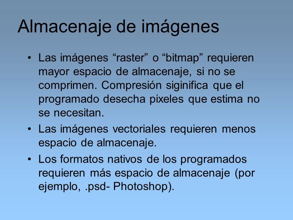 Almacenaje de imágenes