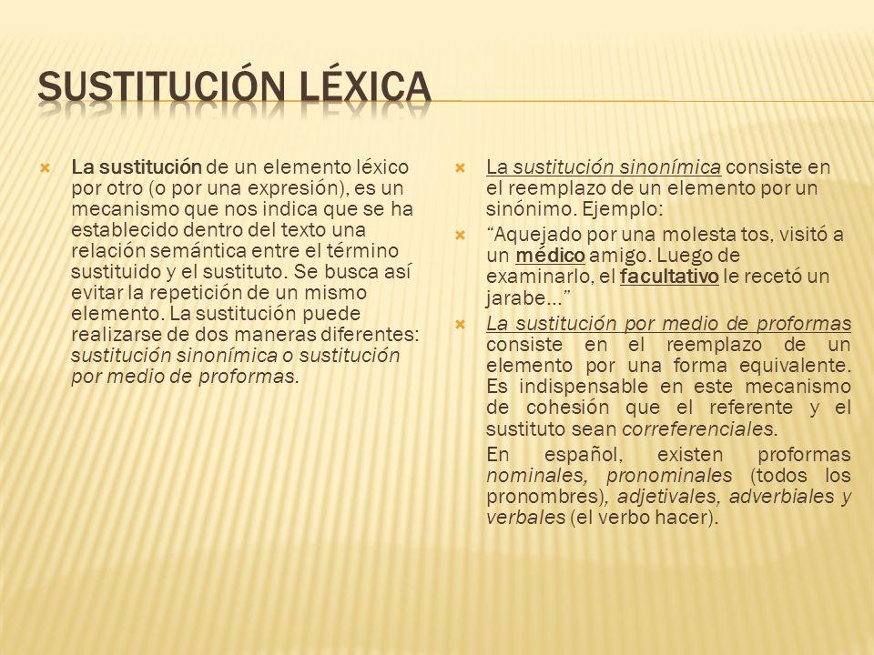 Sustitución léxica