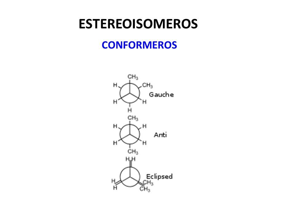 ESTEREOISOMEROS CONFORMEROS
