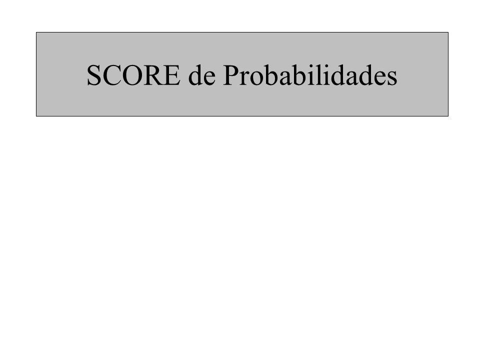 SCORE de Probabilidades