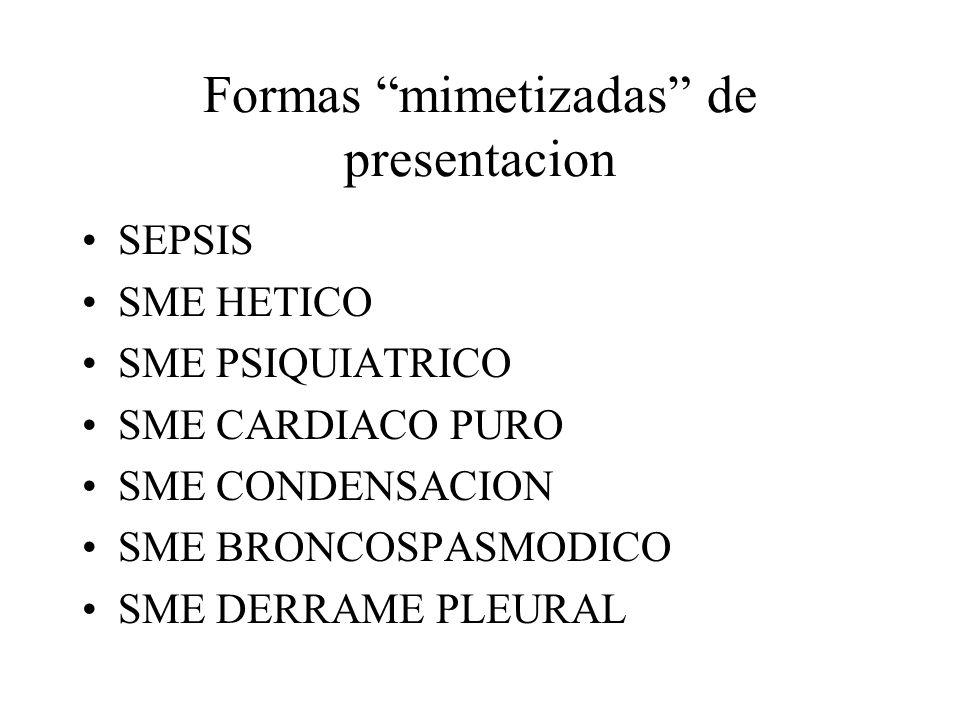 Formas mimetizadas de presentacion