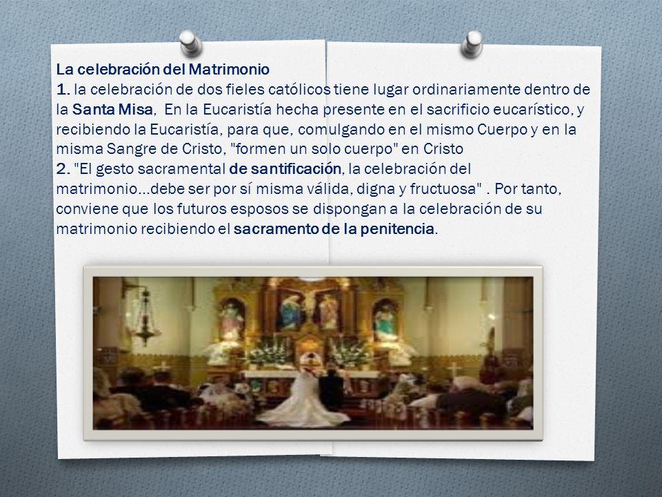 Matrimonio Catolico Misa : El sacramento del matrimonio ppt video online descargar