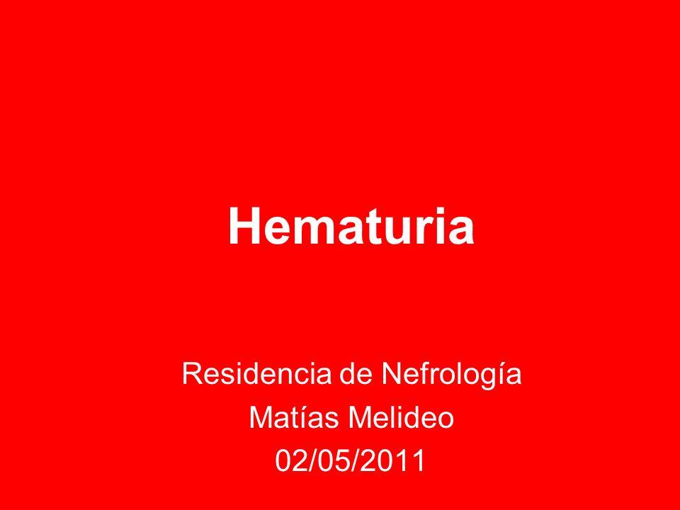 Residencia de Nefrología Matías Melideo 02/05/2011