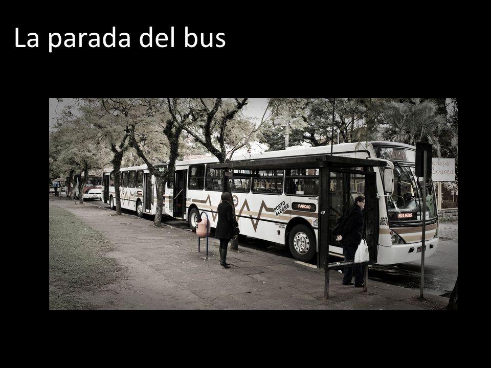 La parada del bus