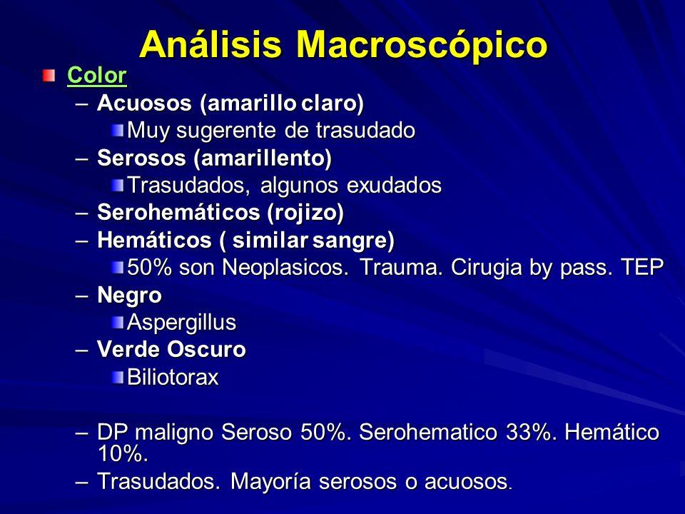 Análisis Macroscópico