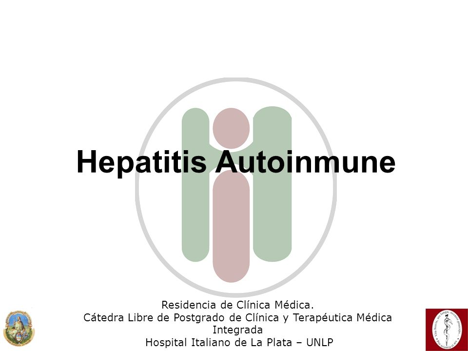Hepatitis Autoinmune Residencia de Clínica Médica.