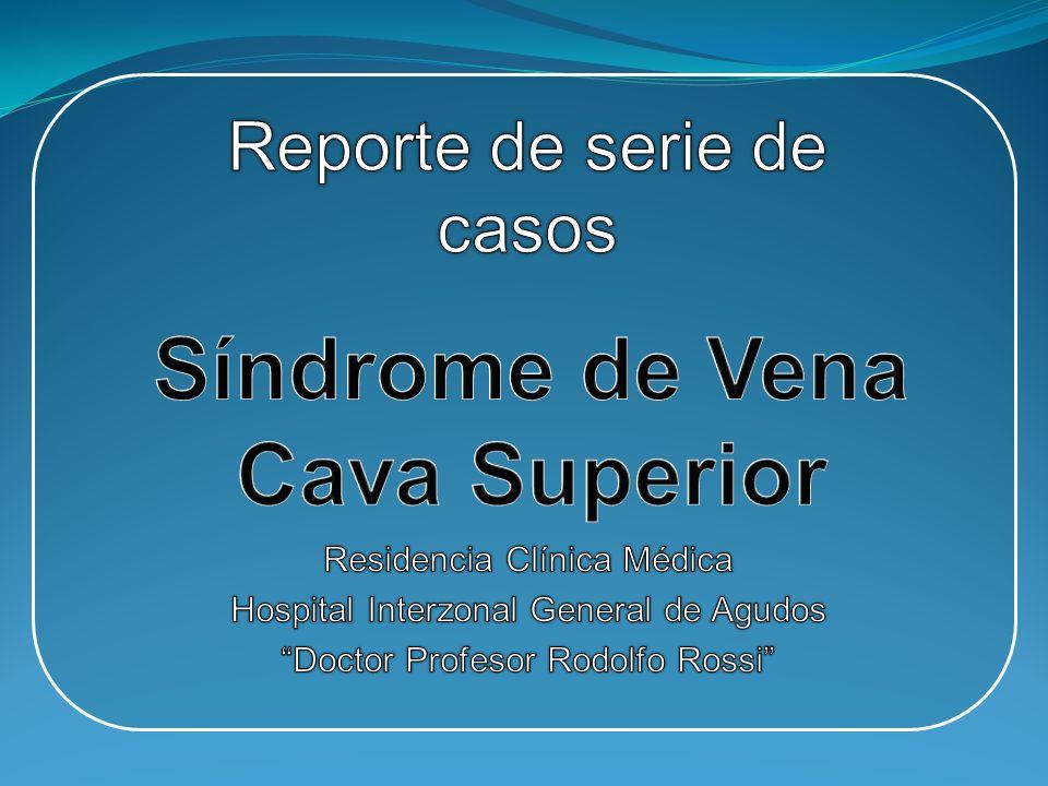 Síndrome de Vena Cava Superior