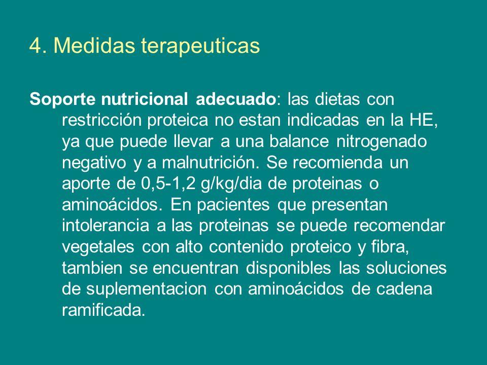 4. Medidas terapeuticas