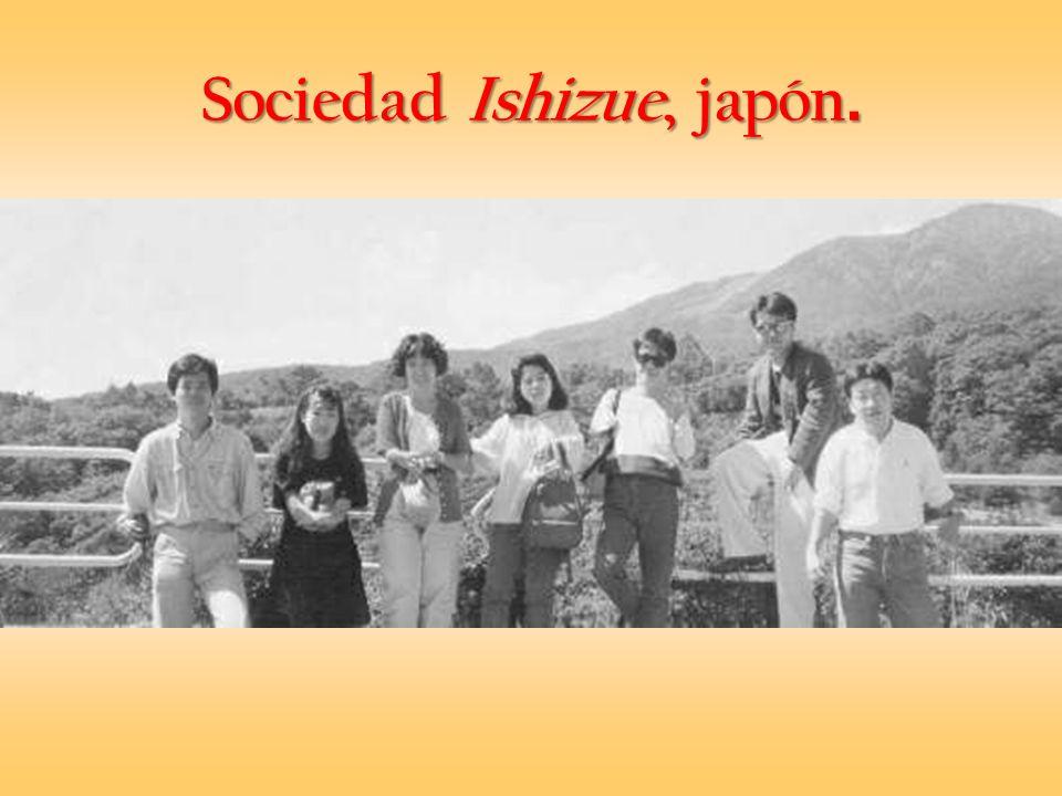 Sociedad Ishizue, japón.