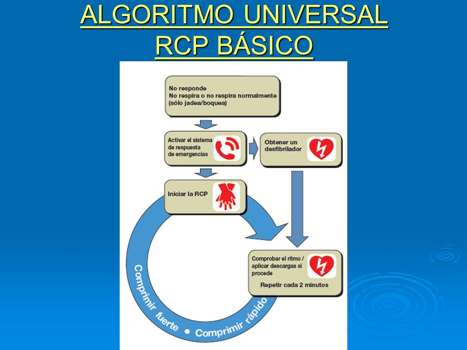 ALGORITMO UNIVERSAL RCP BÁSICO