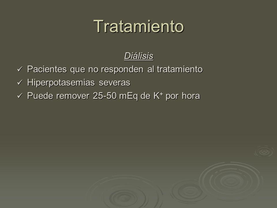 Tratamiento Diálisis Pacientes que no responden al tratamiento