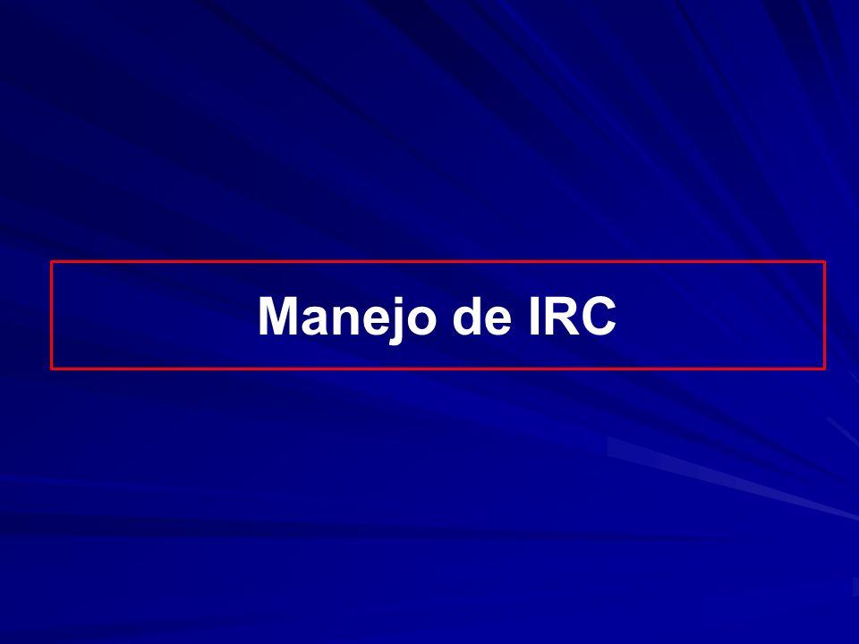 Manejo de IRC
