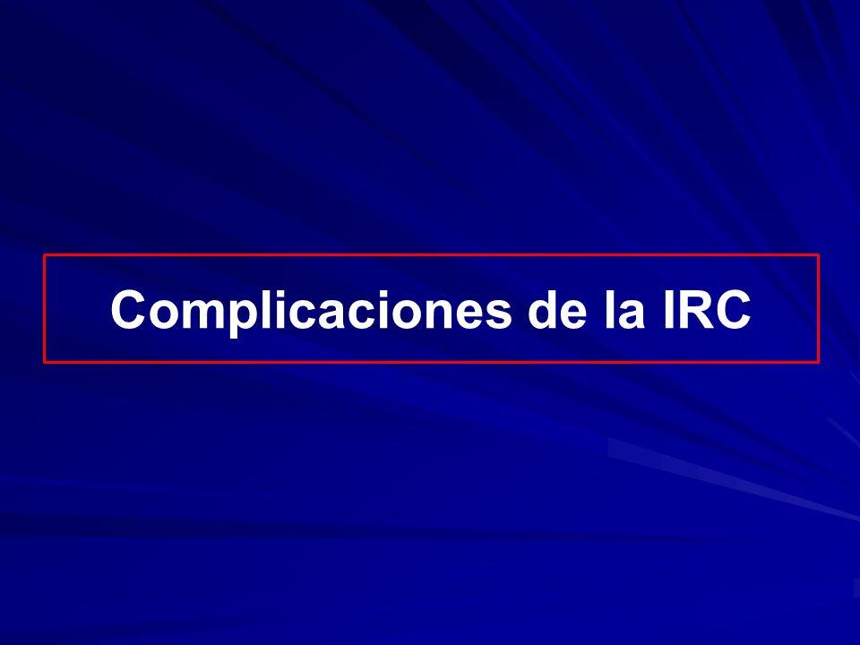 Complicaciones de la IRC