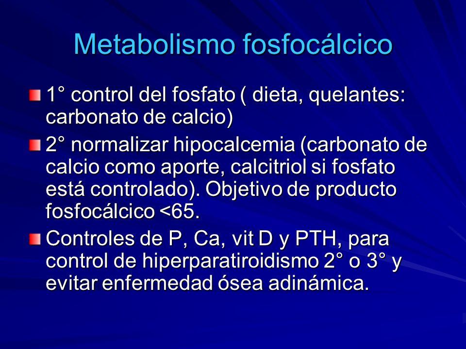 Metabolismo fosfocálcico