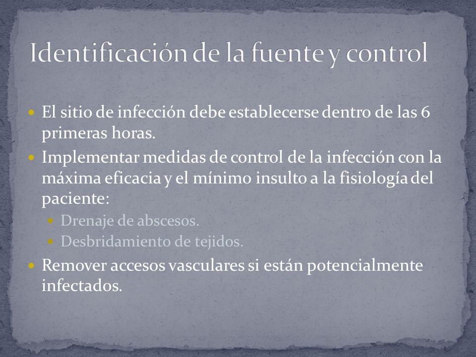 Identificación de la fuente y control
