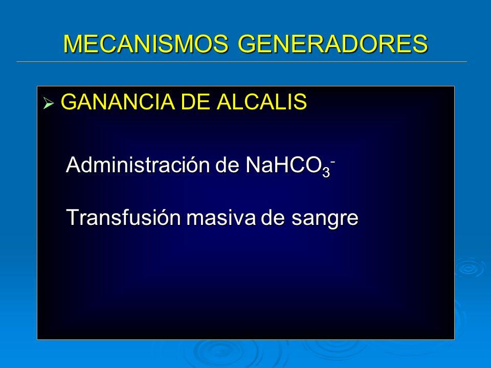 MECANISMOS GENERADORES