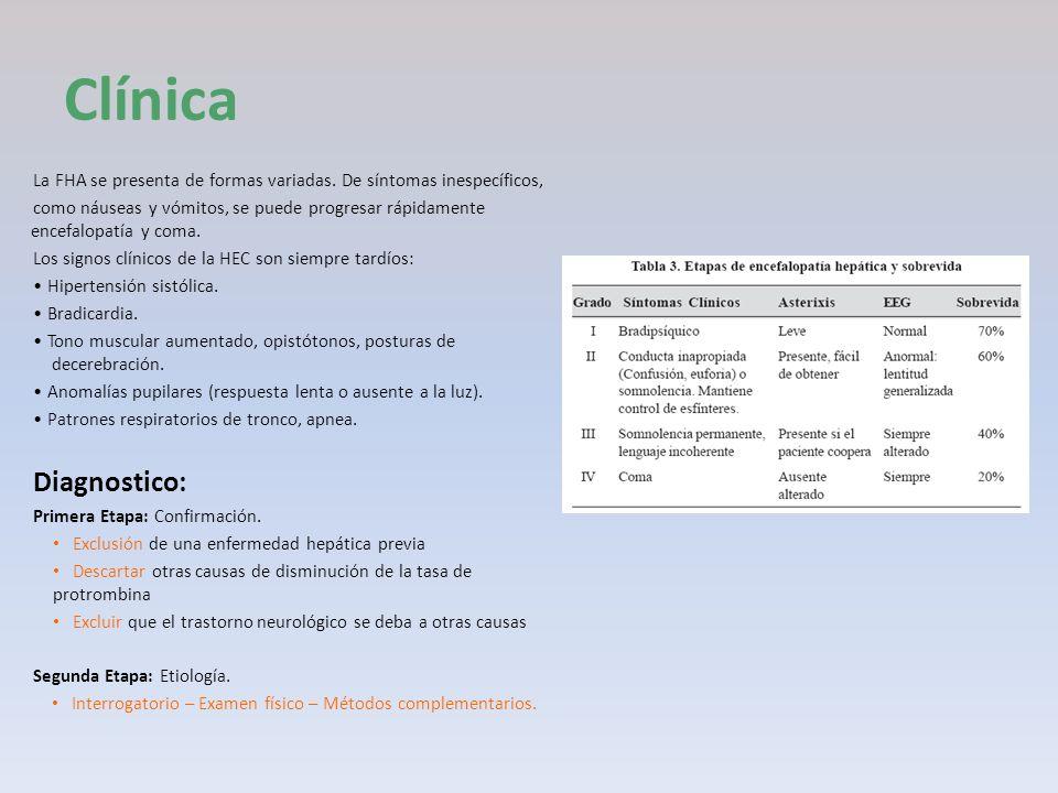 ClínicaLa FHA se presenta de formas variadas. De síntomas inespecíficos,
