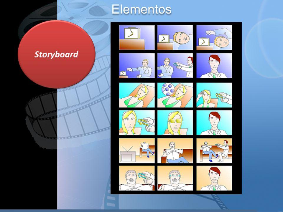 Elementos Storyboard