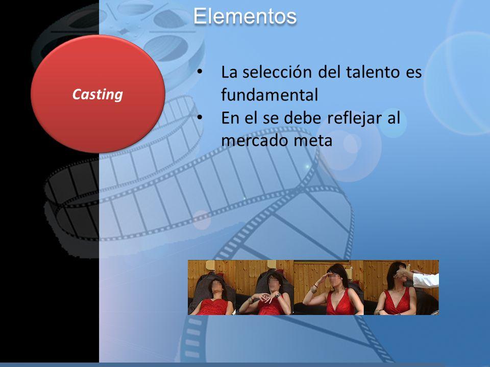 Elementos La selección del talento es fundamental