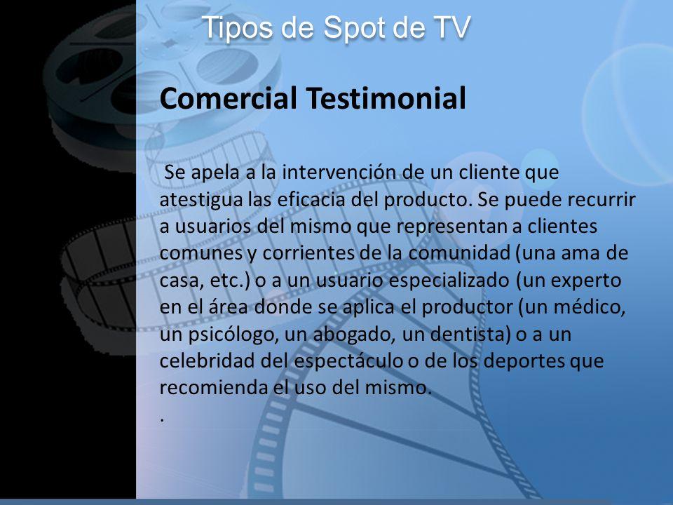 Comercial Testimonial