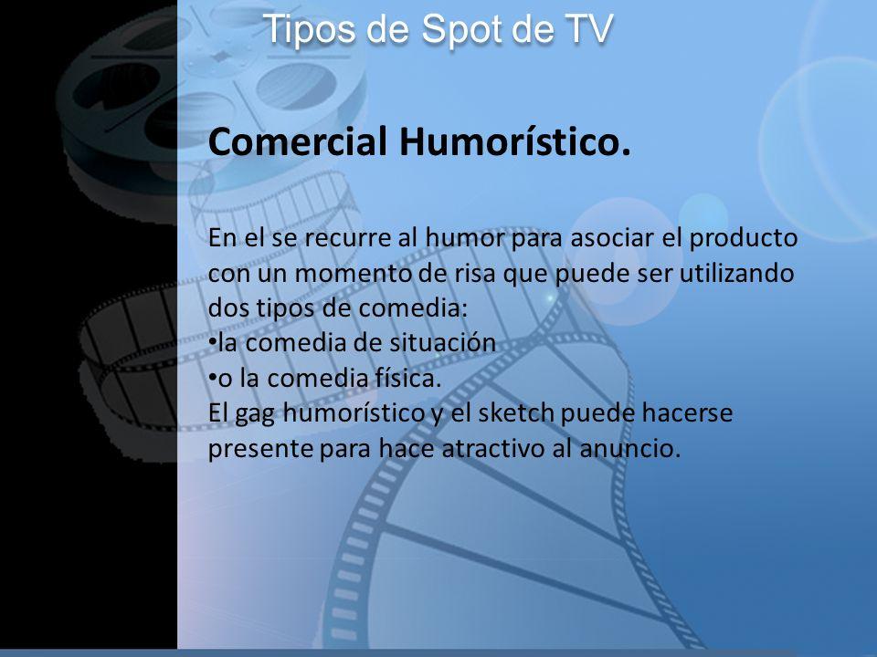 Comercial Humorístico.
