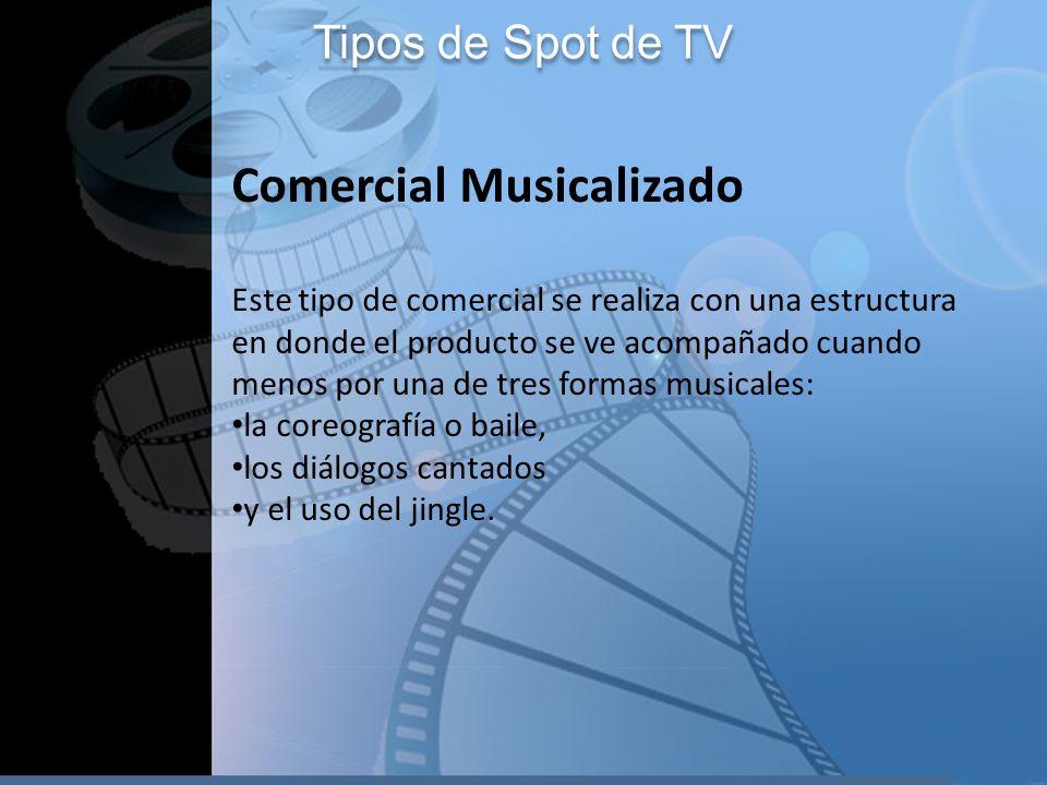 Comercial Musicalizado