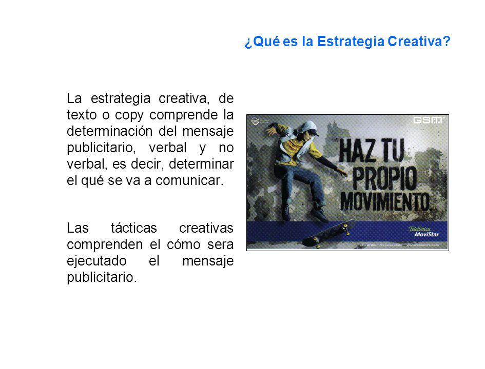 ¿Qué es la Estrategia Creativa