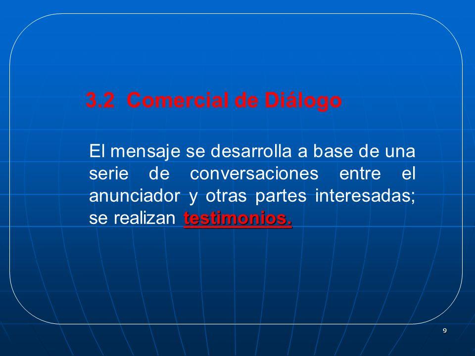 3.2 Comercial de Diálogo