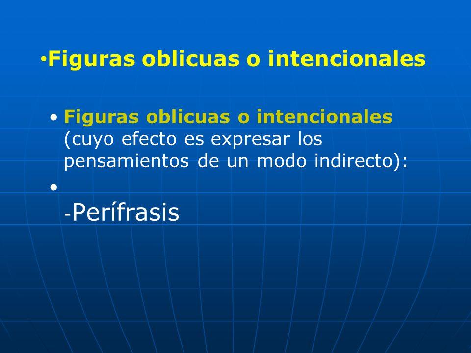 Figuras oblicuas o intencionales