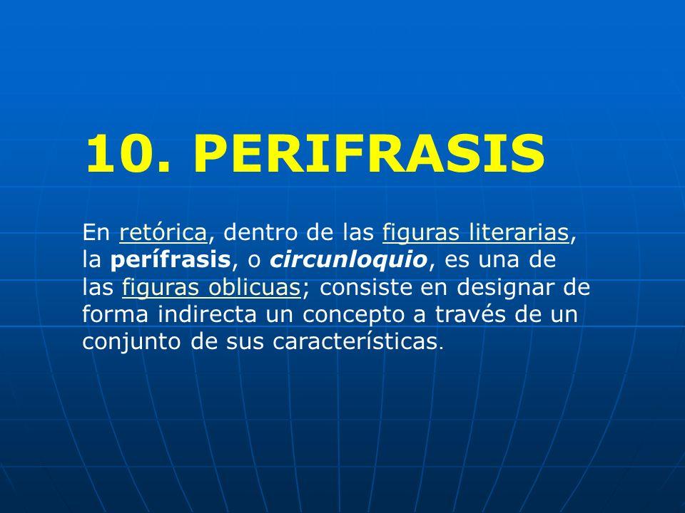 10. PERIFRASIS