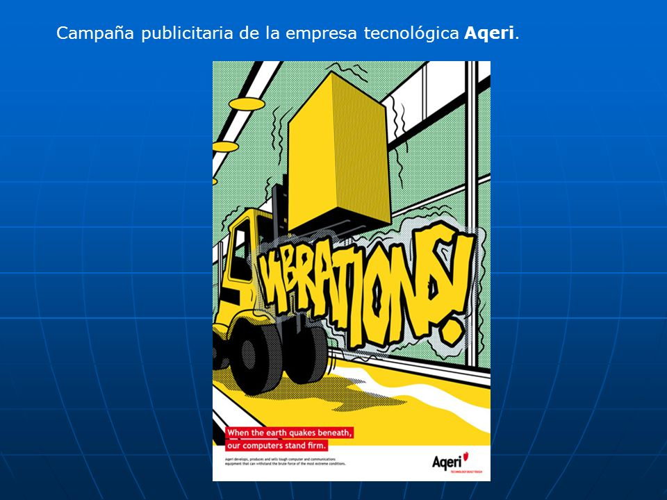Campaña publicitaria de la empresa tecnológica Aqeri.
