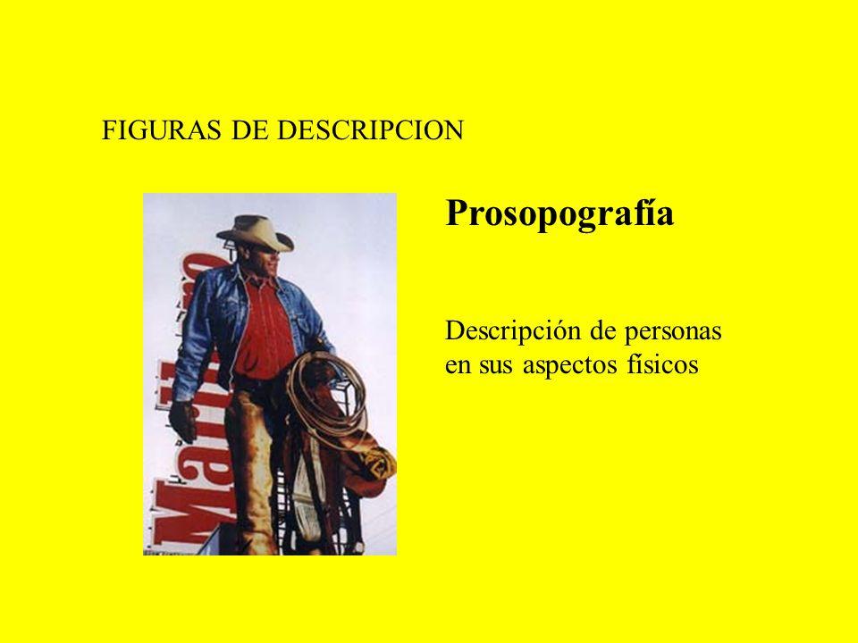Prosopografía FIGURAS DE DESCRIPCION Descripción de personas
