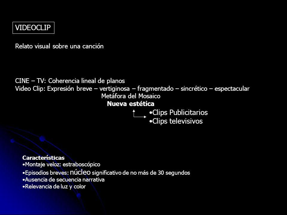 VIDEOCLIP Clips Publicitarios Clips televisivos