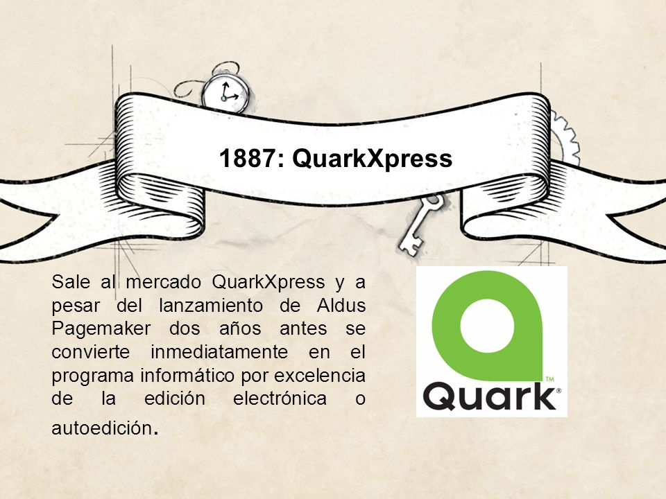 1887: QuarkXpress