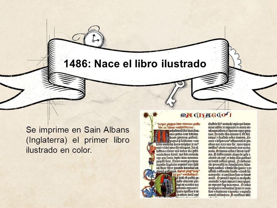 1486: Nace el libro ilustrado