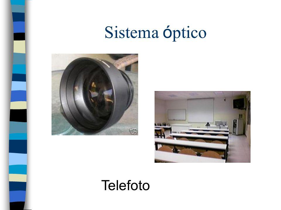 Sistema óptico Telefoto