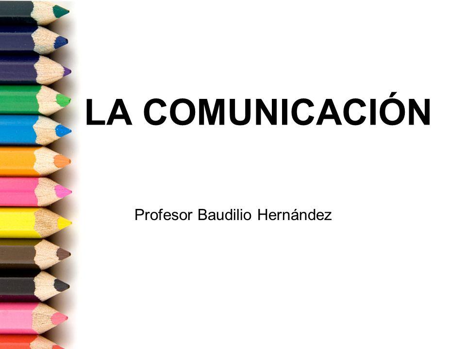 Profesor Baudilio Hernández