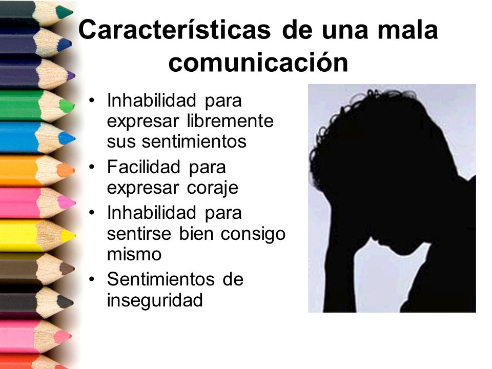 Características de una mala comunicación
