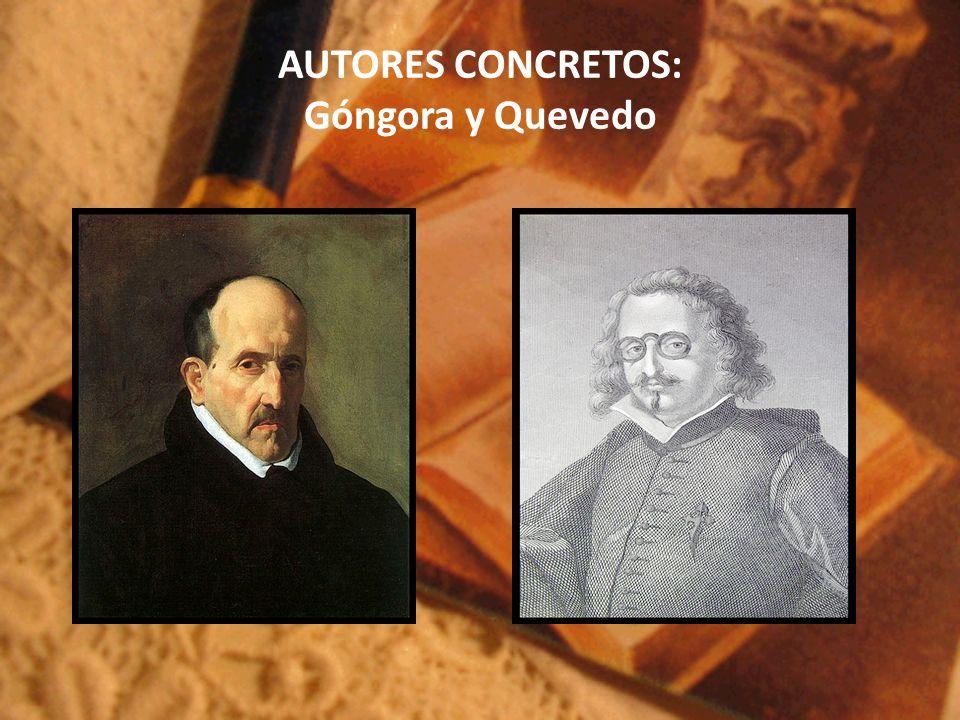 AUTORES CONCRETOS: Góngora y Quevedo