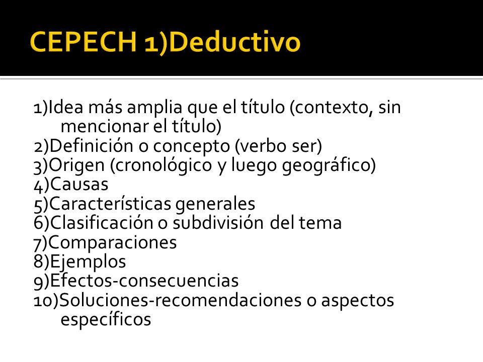 CEPECH 1)Deductivo