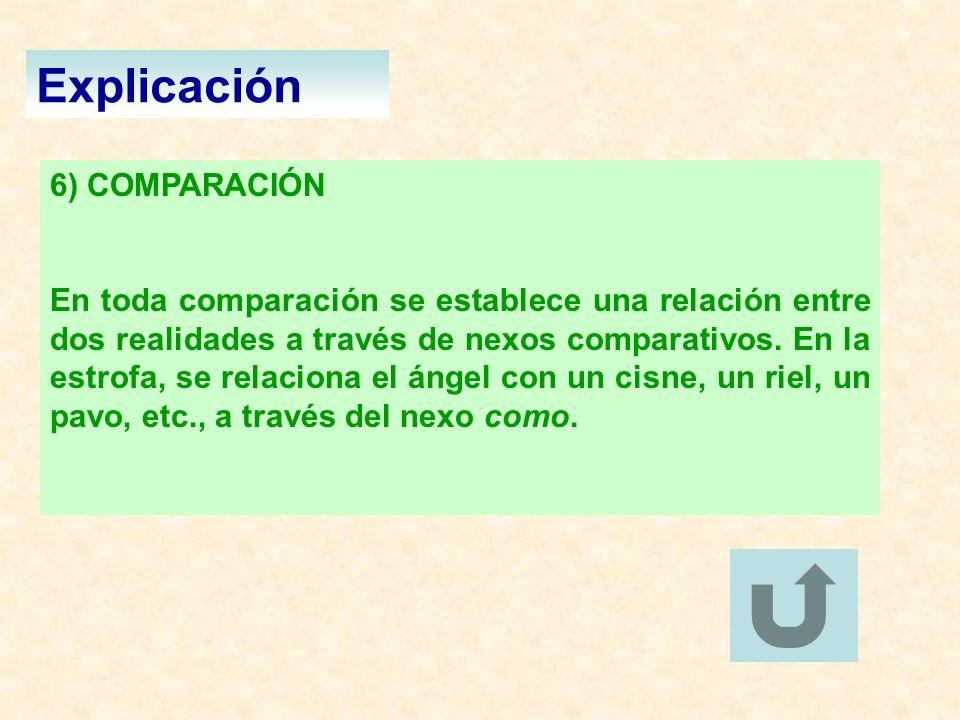 Explicación 6) COMPARACIÓN