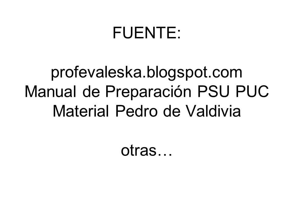 FUENTE: profevaleska. blogspot