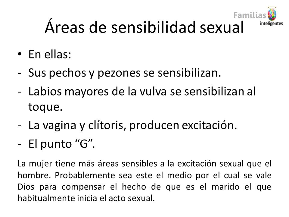 Áreas de sensibilidad sexual