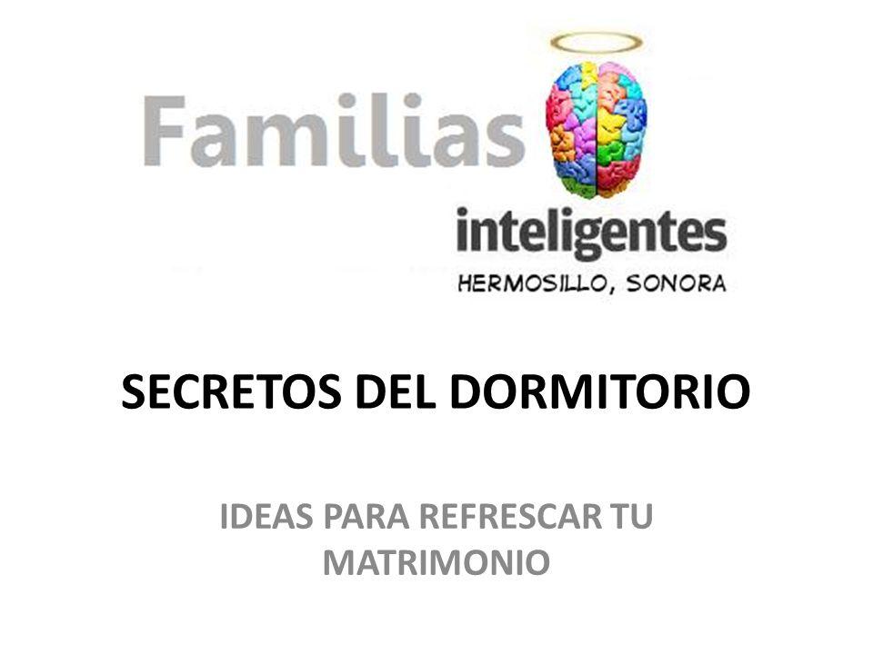 SECRETOS DEL DORMITORIO